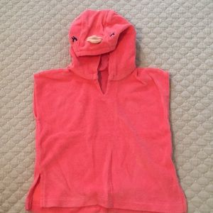 Baby GAP Flamingo Coverup. 3-6 months. Like new!
